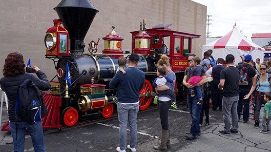 Disneyland Railroad's C.K. Holliday Locomotive