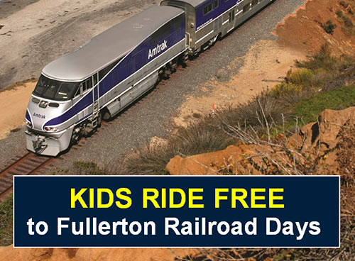 Kids Ride For Free Offer from Amtrak