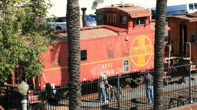 1929 Santa Fe Cupola Steel Way Car/Caboose