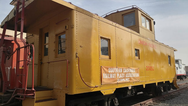 1942 Union Pacific Tall Cupola Steel Caboose