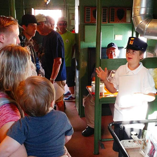 Tours at the Fullerton Train Museum