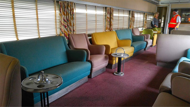 1949 Union Pacific 85-foot Dormitory-Lounge